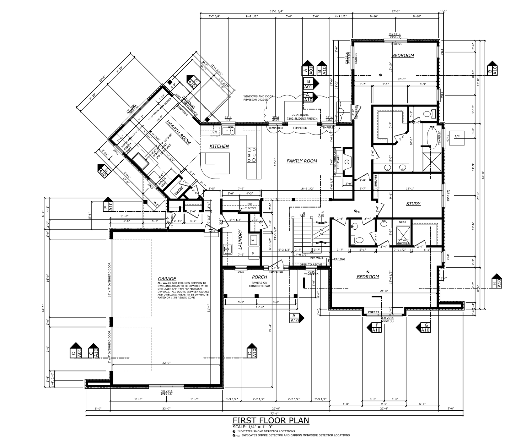 Residential drawings professional portfolio for House drawing plan layout